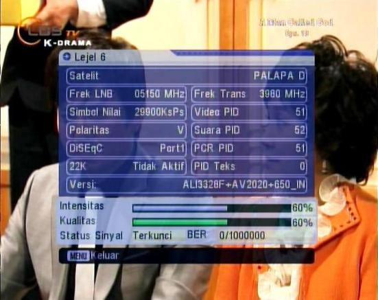data transponder LBS TV