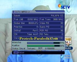 Freq Baru SCTV 3999 H 8500 Sejak 1 Oktober 2015