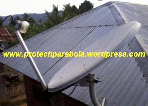Posis arah dish astro untuk lokasi Banda Aceh, gambar di foto dari ...