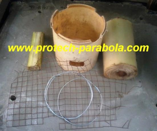1 bahan dasar pembuatan tungku serbuk kayu