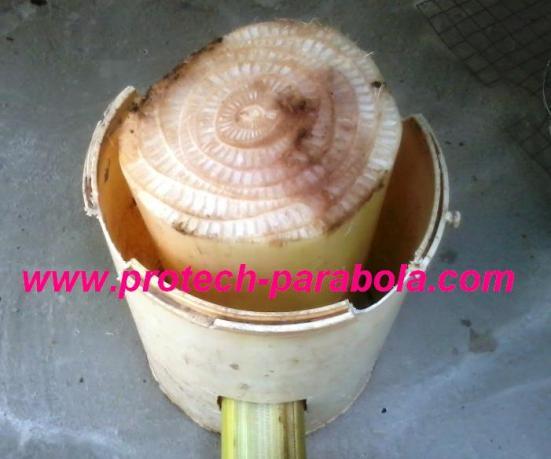 2 cara susun bahan untuk pembuatan tungku serbuk kayu