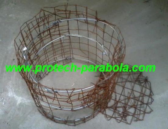 3 pembuatan rangka penguat utk tungku serbuka kayu
