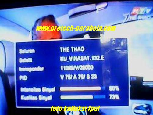 4 The Thao on vinasat 1 ku  band