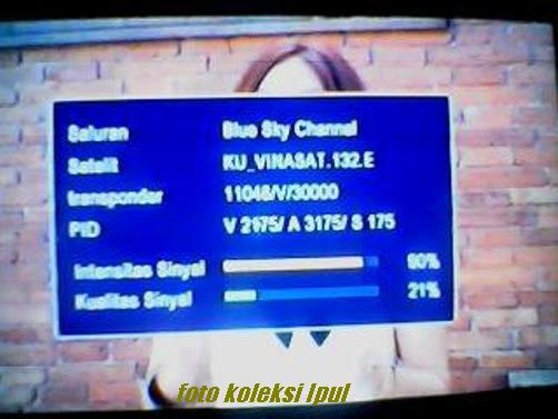 5 Blue Sky Channel on vinasat Ku Band