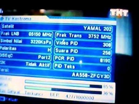 Update Freq Yamal 202 at 49.0°E