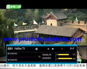 2 Freq Terkuat ChinaSat 6A at 125.0°E 3932 H 6590