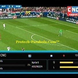 Channel EURO 2016 Sat Apstar 6 - CNC Freq 4052 H 9630 Mpeg2-FTA