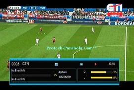 Channel EURO 2016 Sat Apstar 6 - CTN Freq 4052 H 9630 Mpeg2-FTA