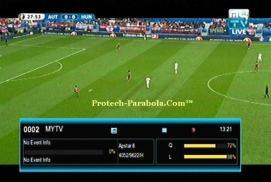 Channel EURO 2016 Sat Apstar 6 - MY TV Freq 4052 H 9630 Mpeg2-FTA