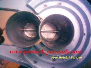 1 Cara Modif LNB untuk Satelit PALAPA D dan CHINASAT 10
