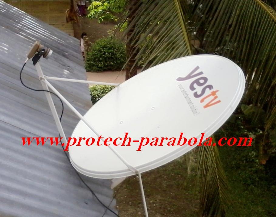 1 Dish Telkomvision untuk Sat NSS 6 Lokasi Bamda Aceh