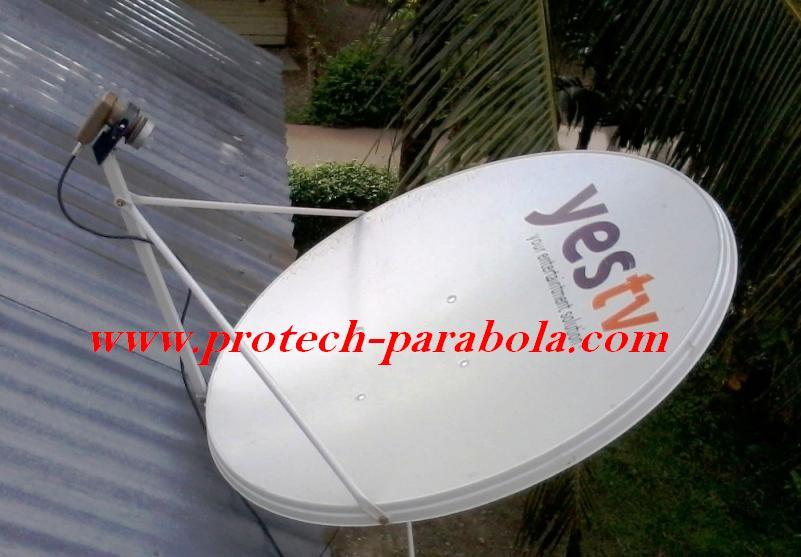 2 Dish Telkomvision untuk Sat NSS 6 Lokasi Bamda Aceh