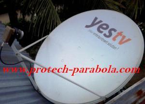 3 Dish Telkomvision untuk Sat NSS 6 Lokasi Bamda Aceh