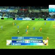 Getafe vs Barcelona Apstar 6 at 134.0°E 4052 H 9628 FTA Mpeg 2
