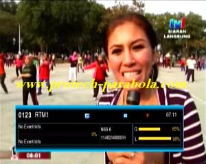 TV 1 Malaysia  Freq 11482 H 40000 on NSS 6 - SES 8