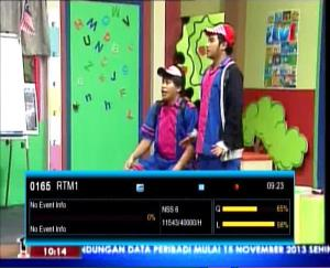 TV 1 Malaysia Freq 11543 H 40000 on NSS 6 – SES 8
