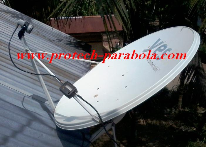 Satelit Finder dan Dish Telkomvision Lock SES 8