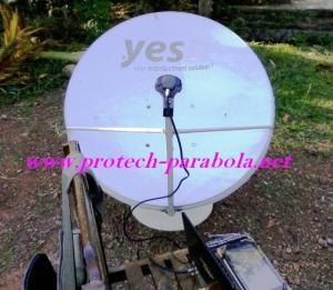 Cara Tracking IPM HD dengan Dish Telkomvision -Dish Pay TV, Foto dari Arah SELATAN Lokasi Banda Aceh