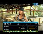 NET 25 TV on Freq 3875 H 6667 @ Telstar 18