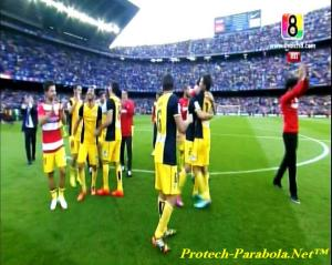 ATLETICO MADRID Juara Liga Spanyol 2014