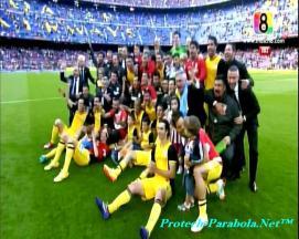 ATLETICO MADRID Juara Liga Spanyol 2014.