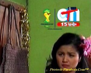 CTN on Apstar 6 Siarkan Piala Dunia 2014