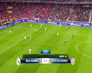 Final Liga Champions REAL MADRID 0 vs 1 ATLETICO MADRID Menit ke 57