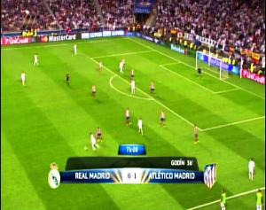 Final Liga Champions REAL MADRID 0 vs 1 ATLETICO MADRID Menit ke 76