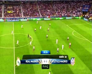 Final Liga Champions REAL MADRID 0 vs 1 ATLETICO MADRID Menit ke 85