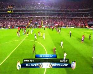 Final Liga Champions REAL MADRID 1 vs 1 ATLETICO MADRID End Second Half