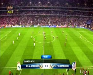 Final Liga Champions REAL MADRID 1 vs 1 ATLETICO MADRID Menit ke 91