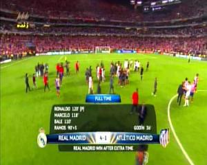 Final Liga Champions REAL MADRID 4 vs 1 ATLETICO MADRID Full Time