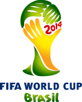 Logo FIFA WORLD CUP 2014 Brazil