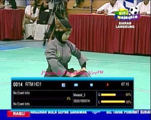 RTM 1 HD - TV1 HD Malaysia on Measat 3-3A Channel Piala Dunia 2014