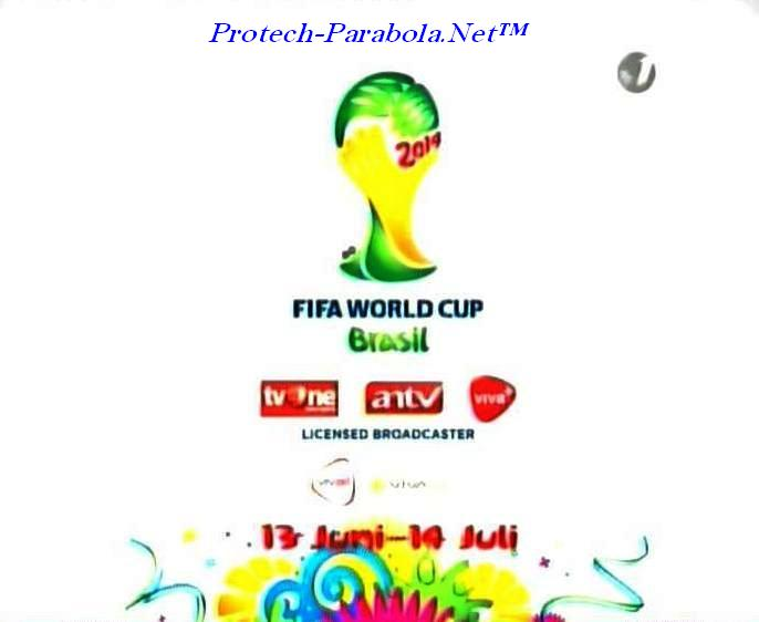 TV One - ANTV Channel Piala Dunia 2014