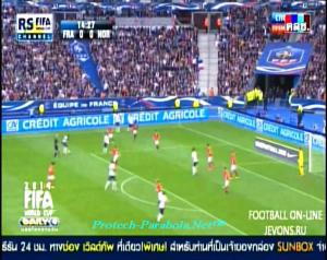 World Cup Channel on Thaicom 5 Channel Piala Dunia