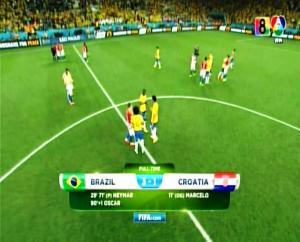Brazil 3 vs 1 Kroasia Penyisihan Piala Dunia 2014