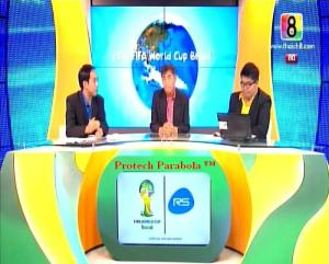 CH8 HD on Thaicom 5 Channel Piala Dunia 2014 Gratis