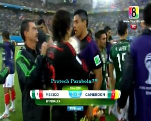 MEXICO 1 vs 0 KAMERUN Full Time Piala Dunia 2014