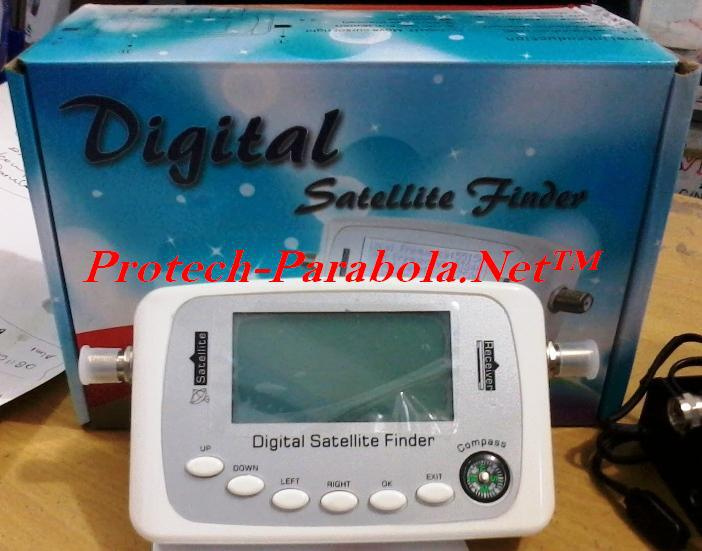 Digital Sat Finder Model SF-500 support DVB-S2,DVB-S