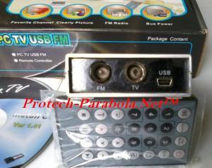 ePRO PC TV USB FM – Input Antena FM – Antena TV – Mini USB