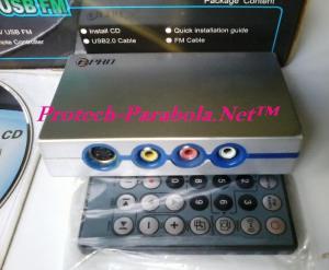 ePRO PC TV USB FM – Input AV (Composit Video) dan Input S-Video