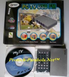 ePRO PC TV USB FM – USB TV Tuner untuk PC – Laptop – Netbook
