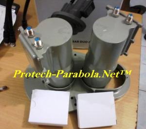 LNB C Band 2in1 VENUS DUO 8122 Palapa D - Telkom 1 untuk 2 Receiver