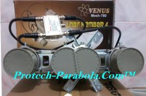 LNB C Band 4 in 1 VENUS 780 untuk 1 Receiver