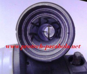 LNB KU Band Tipe OFFSET dengan Conical Skala Ring