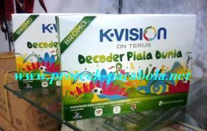 Receiverr K VISION Decoder Piala Dunia