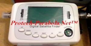 Satellite Finder Digital Model SF-500 support DVB-S2,DVB-S