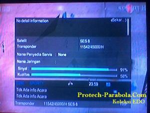 SES 8 HD Freq 11542 H 45000