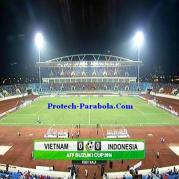 Piala AFF Indonesia vs Vietnam Freq 4164 H 7200 at Asiasat 5